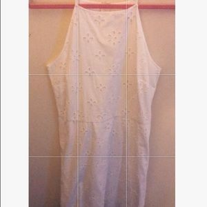 NWT Loft Halter Neck white dress